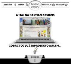 Projektowanie, cięcie i tworzenie stron internetowych i grafiki. Tanie strony www - Warszawa. Zapraszamy: www.bastiandesigns.pl