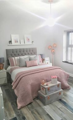 Bedroom Furniture for Girls 61 New Season and Trend Bedroom Design and Ideas Page 10 Luxury Bedroom Design, Room Design Bedroom, Room Ideas Bedroom, Home Room Design, Small Room Bedroom, Home Decor Bedroom, Small Teen Room, Modern Teen Bedrooms, Teen Bedroom Furniture