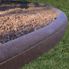 For Play area--Check this out! Flexible 8ft Rubber Residential Mulch Borders