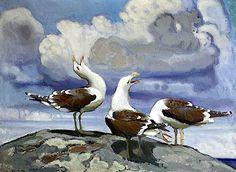 bofransson:  Lennart Segerstråle - Seagulls