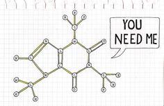 Caffeine Molecule - yes, yes I do!