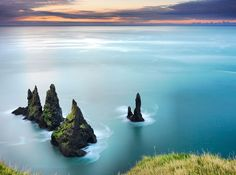 The Reynisdrangar, Iceland