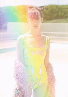 Rainbow pastel summer dream.