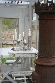 Lantliv i Norregård Blog...  Just LoVe these candlesticks!*!*!