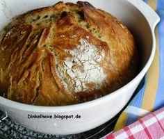 """""""Backofen im Backofen"""" aus dem Grund, weil sich der geschlossene Topf wie ein Backofen um das Brot schließt und der Topf wiederum im Backof..."""