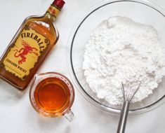 Ingredients to make Three-ingredient Fireball Fudge filled with Fireball whiskey and topped with cinnamon candy. Cinnamon Whiskey, Cinnamon Candy, Top With Cinnamon, Fireball Whiskey Fudge Recipe, Fudge Recipes, Perfect Food, Different Recipes, Christmas Treats, Melting Chocolate