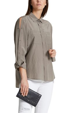 Shop sexy club dresses, jeans, shoes, bodysuits, skirts and more. Stylish Clothes For Women, Stylish Outfits, Fashion Outfits, Dressy Tops, Sewing Blouses, Sleeves Designs For Dresses, Stylish Dress Designs, Spring Outfits Women, Everyday Dresses