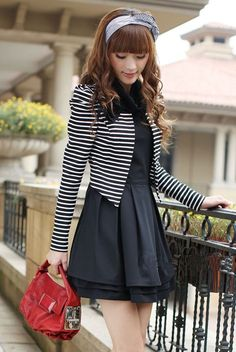 A long sleeve dress korean