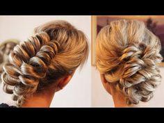 Причёска с резинками - 2 варианта - YouTube