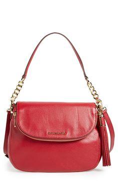 MICHAEL Michael Kors 'Bedford Tassel - Medium' Convertible Leather Shoulder Bag (Nordstrom Exclusive)