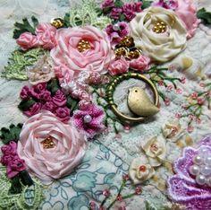Crazy Quilt Created by Barbara Nicki Lee Seavey - Raviolee Dreams