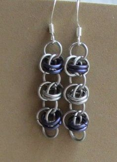 Chainmaille Earring Tutorial