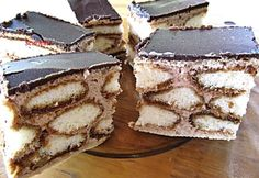 Hungarian Cake, Hungarian Recipes, Weekday Meals, Christmas Treats, Cake Cookies, Tiramisu, Food And Drink, Cooking Recipes, Sweets