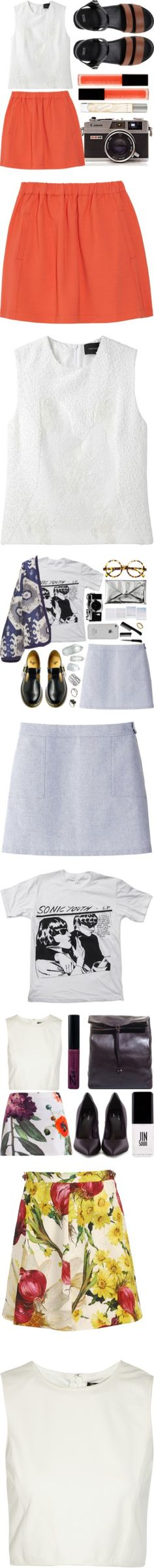 """""""Small Skirt, Big Style"""" by polyvore-editorial ❤ liked on Polyvore"""