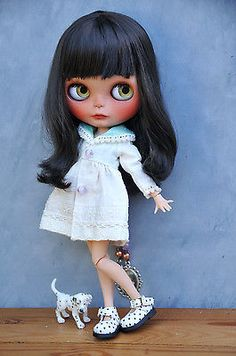 OOAK Custom Blythe Doll - FRIYA - Customized by Zuzana D.