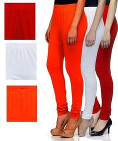 90df116c Multi Color Cotton Lycra Leggins - SR-L109102103. Zinnga · Tops & Leggings