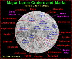 Moon Map - Zoom Astronomy