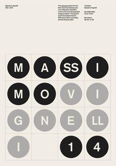 2 | Designers Pay Tribute To Massimo Vignelli With 53 Original Posters | Co.Design | business + design