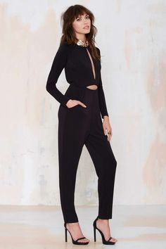 Nasty Gal Erina Cutout Jumpsuit - Rompers + Jumpsuits | Rompers + Jumpsuits | All | Clothes