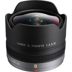 Panasonic-lumix-g-fisheye-8mm-f-3-5-lentille-pour-DMC-GX8-G7-gf7-gh4-GM5