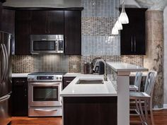 HGTV's Best Kitchen Countertop Pictures: Color & Material Ideas : Page 67 : Rooms : Home & Garden Television