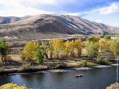 Lower Canyon. Yakima River. Washington.