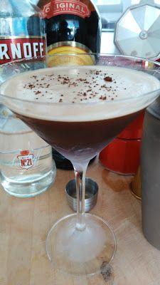 Los Cócteles Mundiales  : Cóctel Espresso Martini