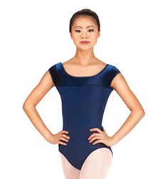 Bal Togs Two Tone Cap Sleeve..I actually like this cap sleeve leotard. $27.75. Would take it in black or burgundy (would prefer burgundy actually xD). Size S.