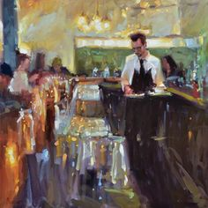 """We're extremely excited for Shannon Smith Hughes ! """"Cuban Coffee"""" was accepted into Oil Painters of America's 25th Annual National Juried Exhibition of Traditional Oils! Show opens May 13th at Southwest Gallery in Dallas, TX. ☕️ #OPA #Dallas #oilpainting"""