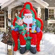 12 Best Inflatable Christmas Decorations Outdoor images