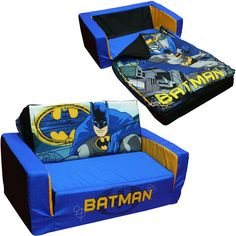Beau Batman Toddler Flip Sofa