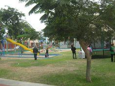 Parque de diversiones, el cual es muy concurrido por los pequeños del distrito de Pueblo Libre.