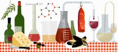 food chemistry - art