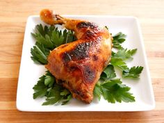 Honey Garlic Chicken #healthy #holiday #recipe