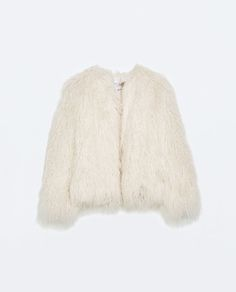 Image 7 of FUR JACKET from Zara