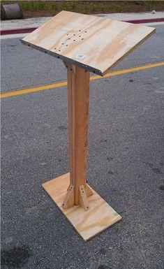 Make a podium for class