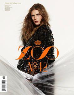 Malgosia Bela by Bryan Adams for Zoo Magazine #42, Spring 2014