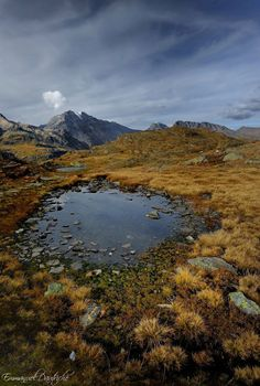 Autumn in Vanoise by manudautriche