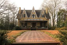 Sledge House in Clark County GA......built 1860.....Gothic style cottage
