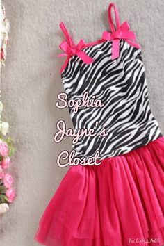 #sophiajaynescloset #zebrastripes #toddlerdresses #tutu #tutudress