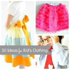 Sew Fashionable! 30 Clothing Ideas for Kids with a DIY Twist