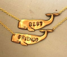 Best Friends Necklace. @Laura Fischer....for you and the sisterface =)