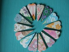 Retro Heart Magnets - The Supermums Craft Fair