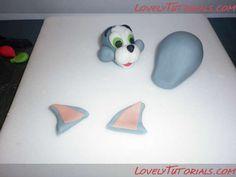 МК лепка Том и Джерри -Tom and Jerry figure sculpting tutorials - Мастер-классы по украшению тортов Cake Decorating Tutorials (How To's) Tortas Paso a Paso