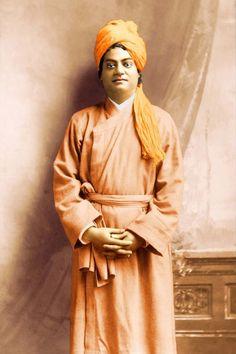 Swami Vivekananda Oakland, California, 1900 Taken in San Francisco, at Bushnell Studio, prior to March