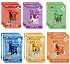 Weruva Cats In The Kitchen Variety Pack Pouches All 6 Recipes 18 Pack >>> Check this awesome product by going to the link at the image.