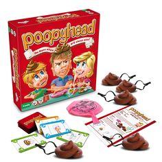 Spiele Poopy Head Whoopie Polster Pool Familie Lustig Spiel Kinder Geschenk 2 Neu