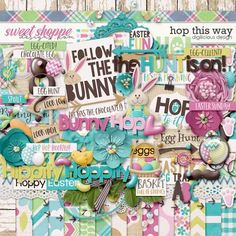 Hop This Way {Kit} by Digilicious Design