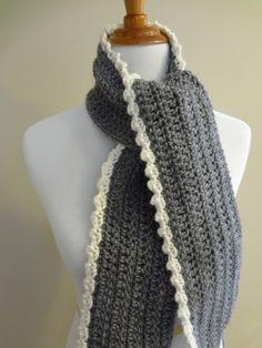 The Ingrid Scarf is a perfect balance of clean simplicity with a touch of luxurious lacy edging. It is for those of us who like a bit ...