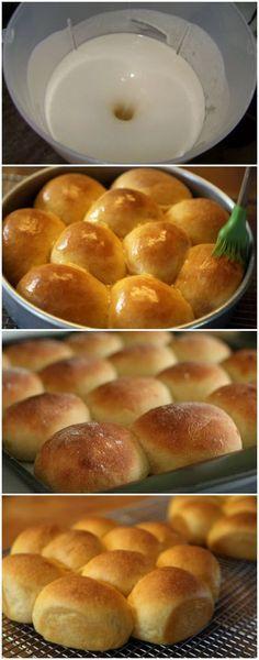 Depois que aprendi a fazer esse pãozinho de liquidificador eu nunca mais voltei à padaria. É simplesmente DIVINO, rápido, prático e muito fácil. A família toda adora! #paozinho #paodeliquidificador